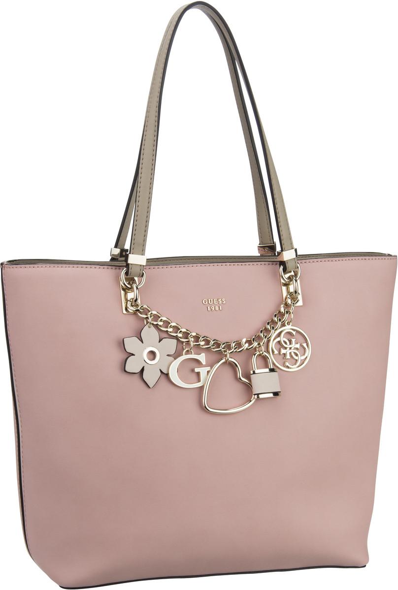 Handtaschen für Frauen - Guess Handtasche Hadley Tote Rose Multi  - Onlineshop Taschenkaufhaus
