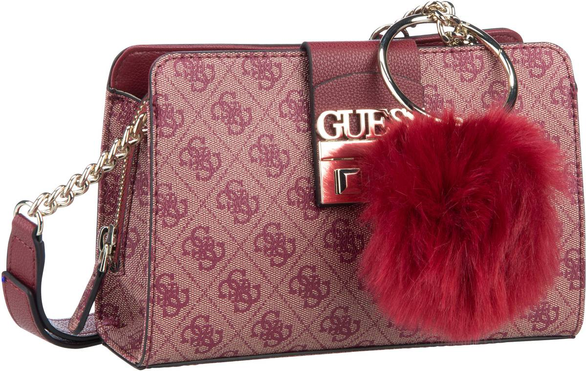 Umhängetasche Logo Luxe Crossbody Girlfriend Red