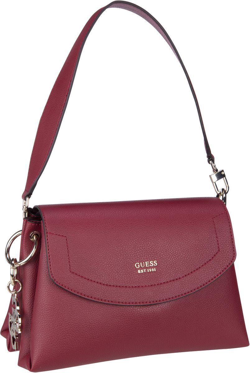 Handtasche Digital Shoulder Bag Burgundy