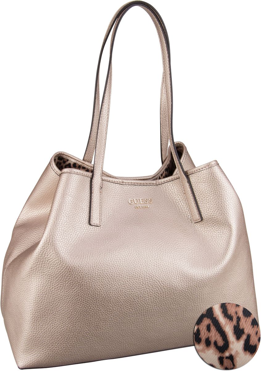 Shopper Vikky Large Tote Pale Bronze