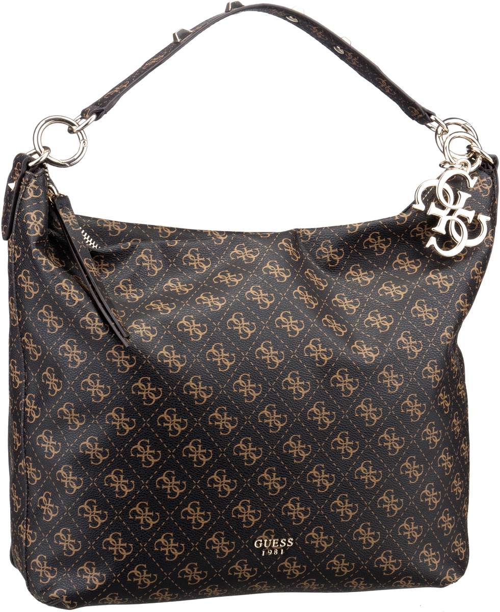Guess Handtasche Mia Hobo Brown