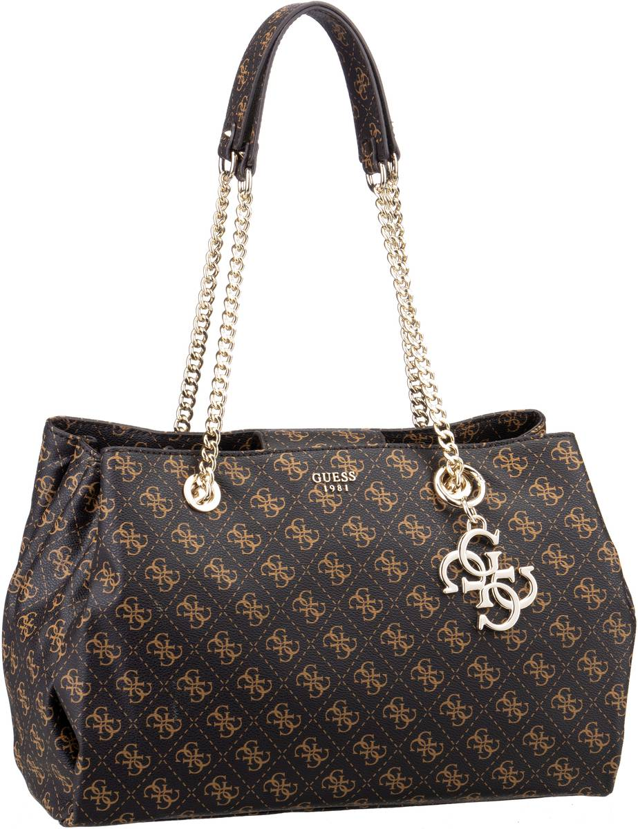 Guess Handtasche Mia Girlfriend Carryall Brown