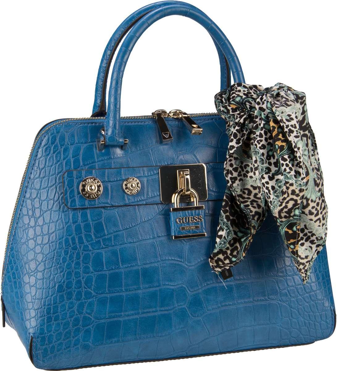 Handtasche Anne Marie Dome Satchel Blue