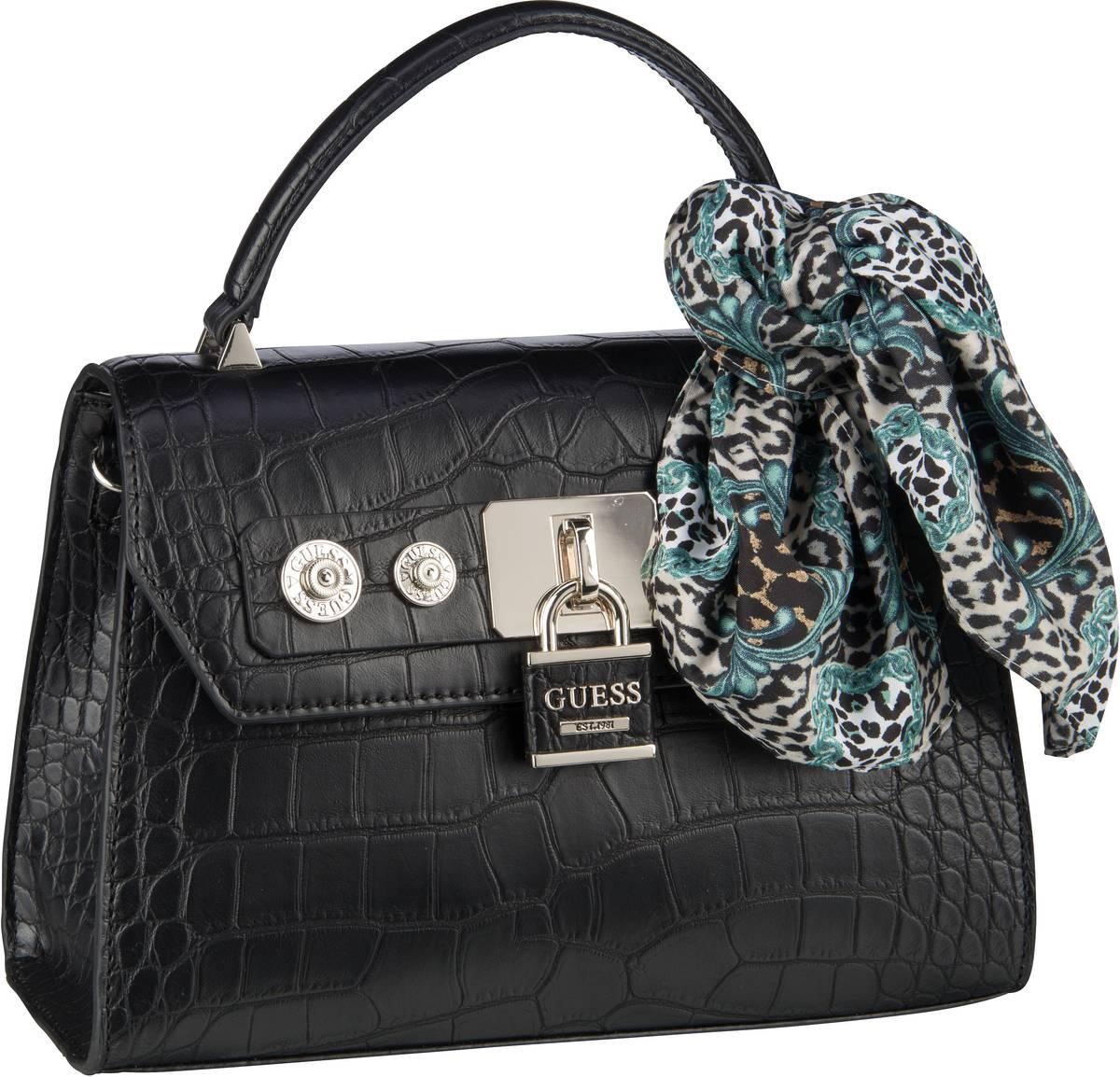 Handtasche Anne Marie Top Handle Flap Black