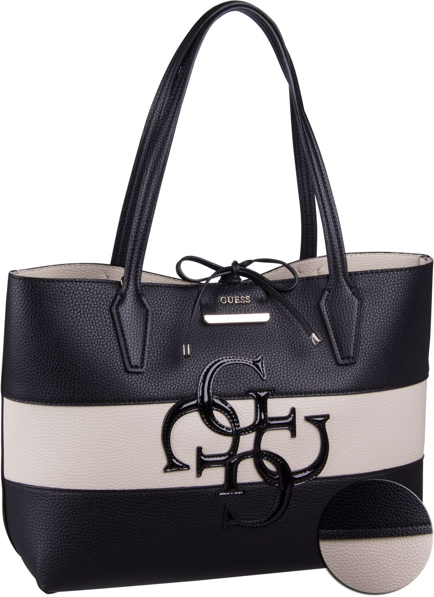 Handtasche Bobbi Inside Out Tote Multi Black Multi/Stone (innen: Beige)