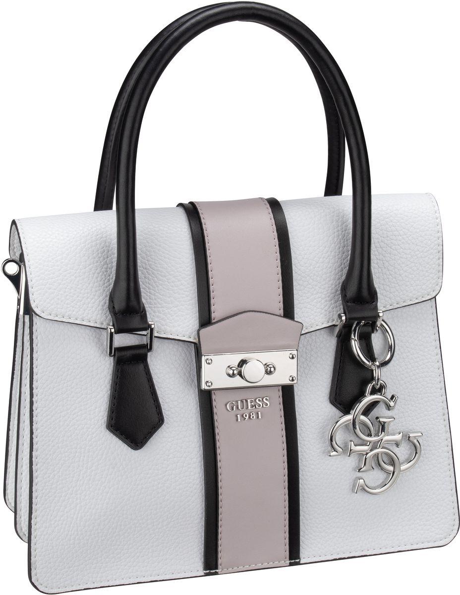 Handtasche La Hip Small Flap Satchel White Multi