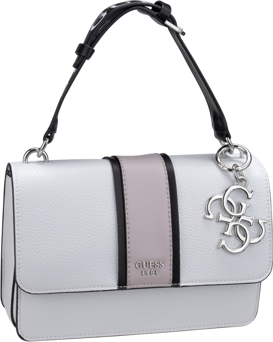 Handtasche La Hip Top Handle Flap White Multi