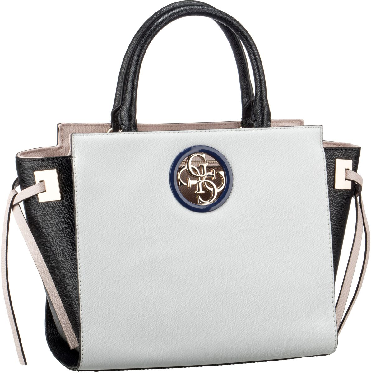 Handtasche Open Road Society Satchel White Multi