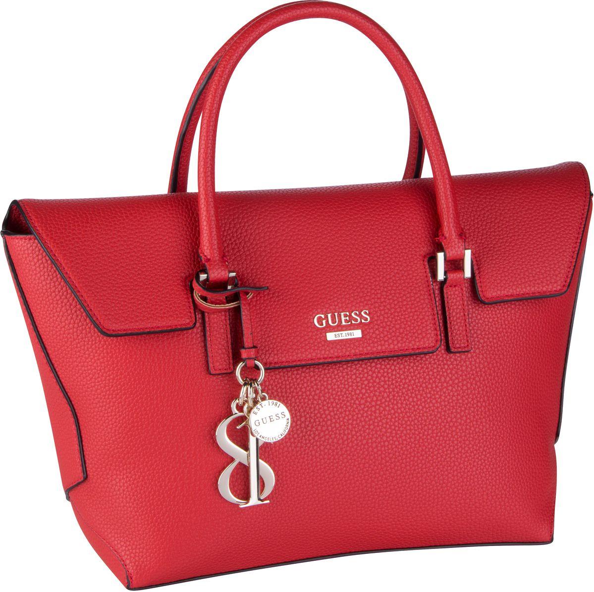 Handtasche West Side Flap Satchel Red