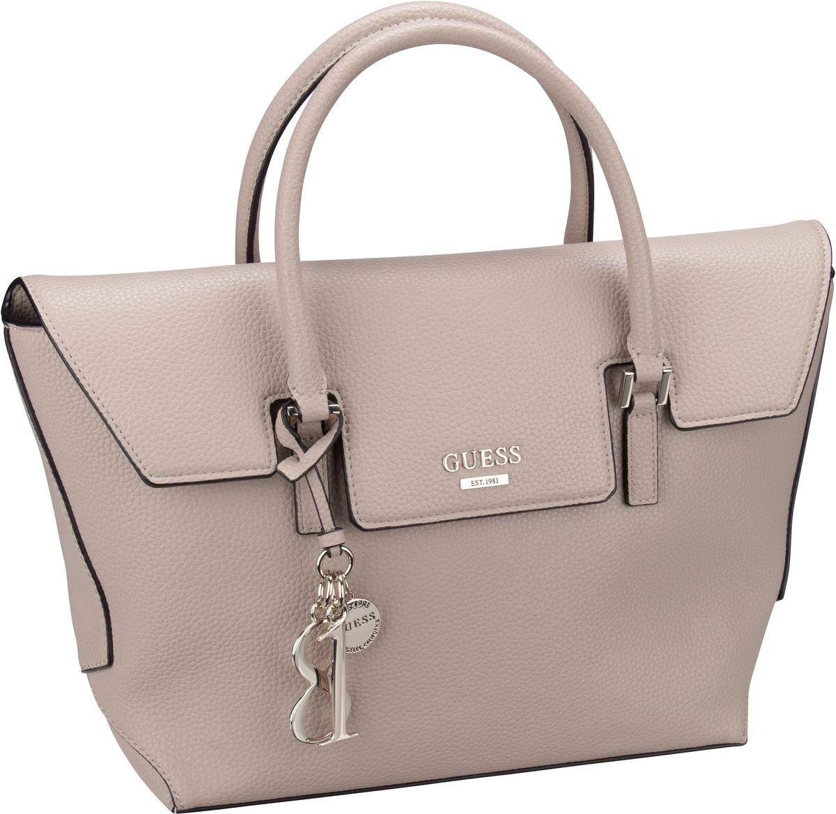 Handtasche West Side Flap Satchel Tan