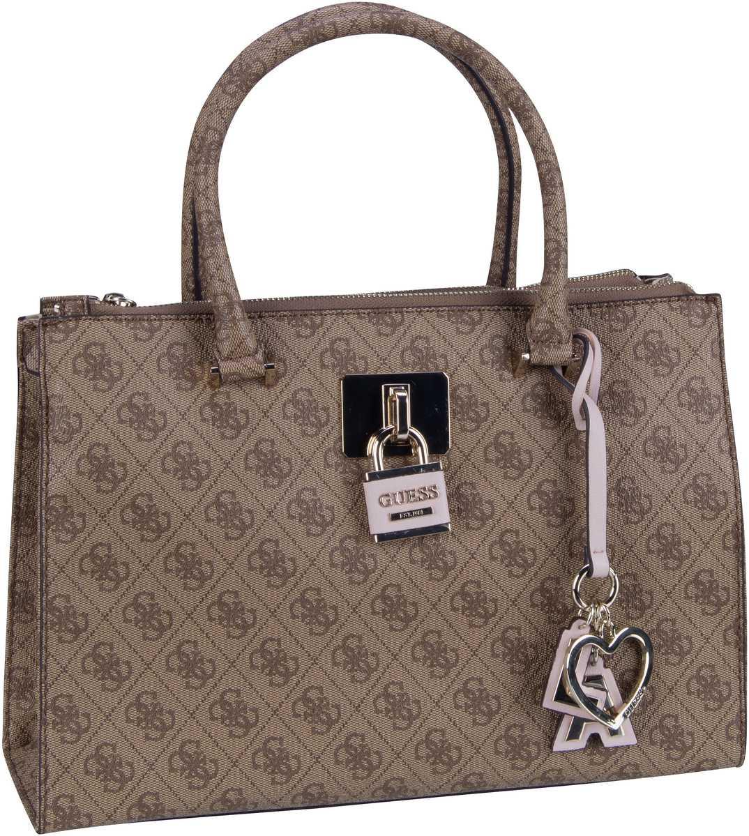 Handtasche Downtown Cool Status Satchel Brown