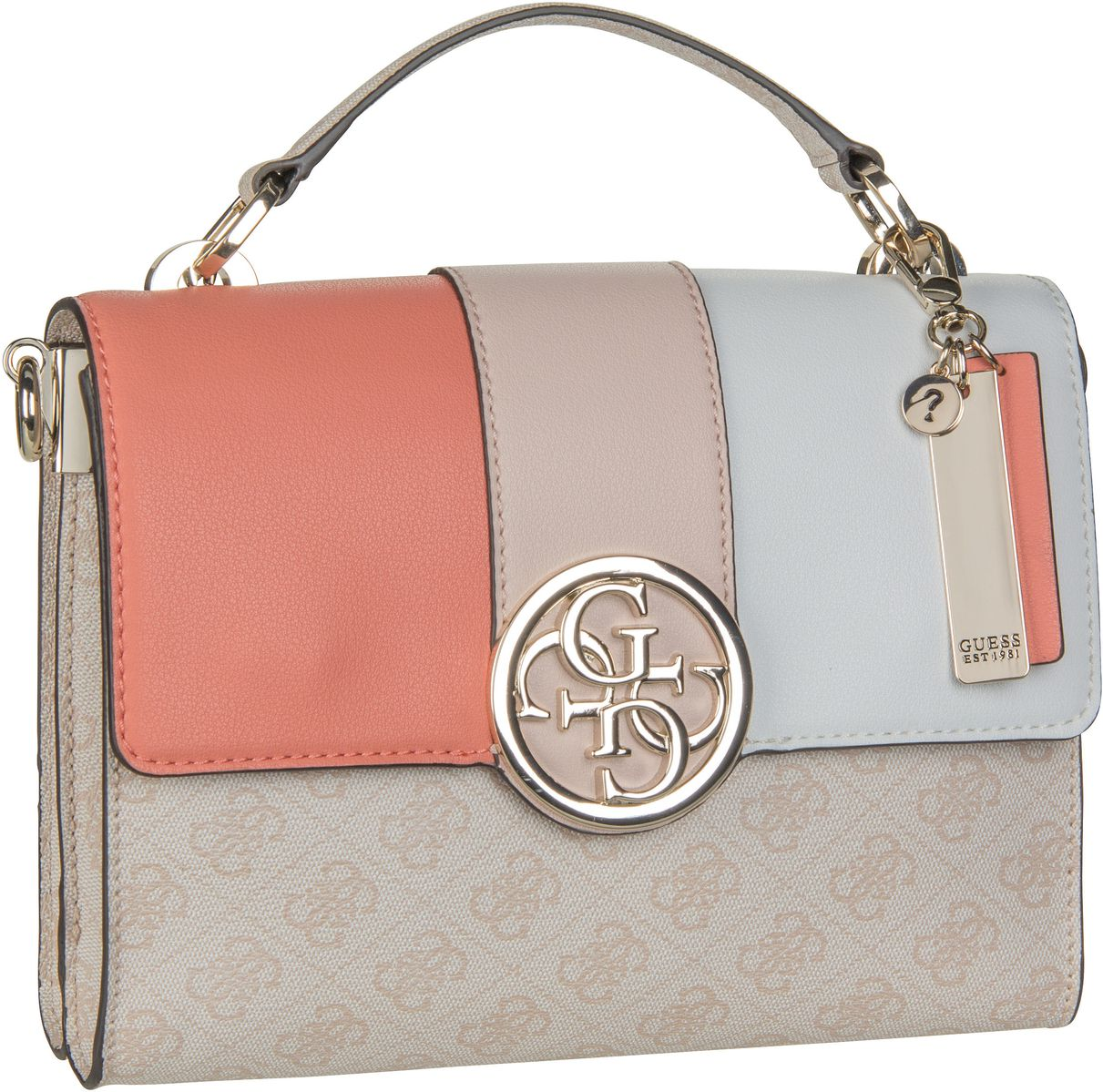 Handtasche Bluebelle Top Handle Flap Blush