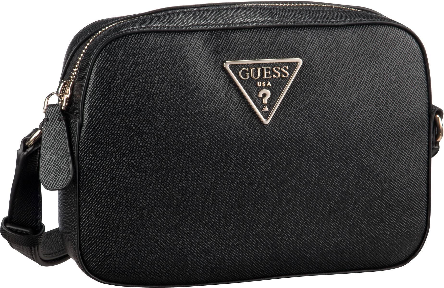 Umhängetasche Carys Crossbody Top Zip Black