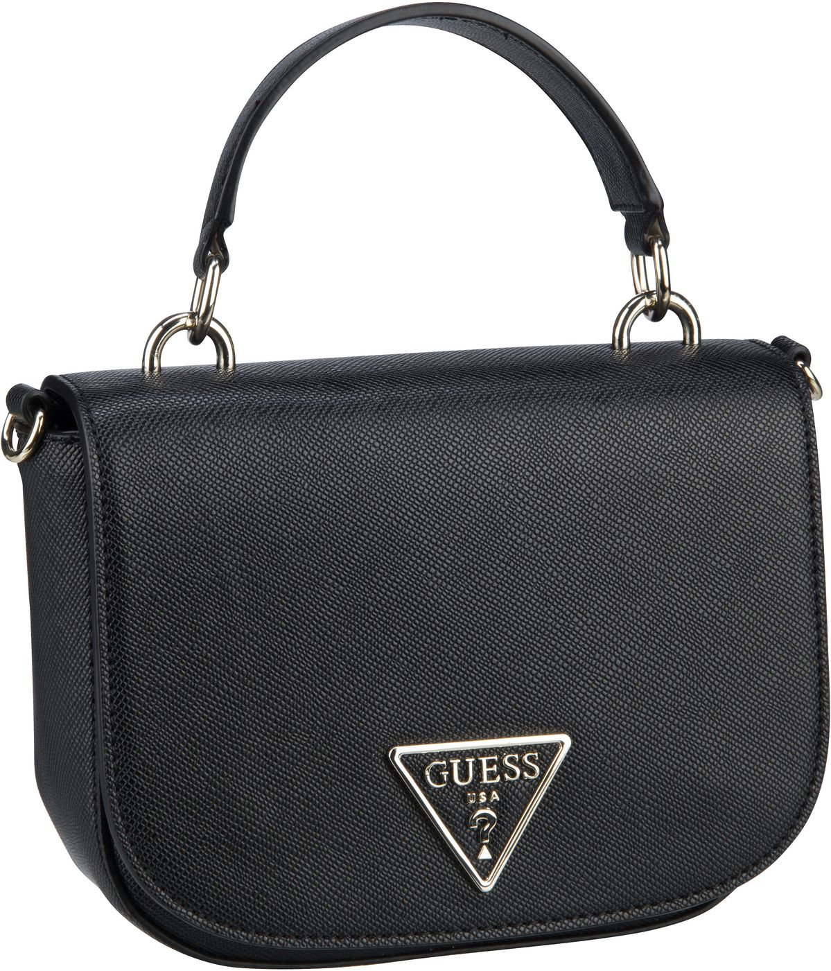 Handtasche Carys Mini Top Handle Flap Black
