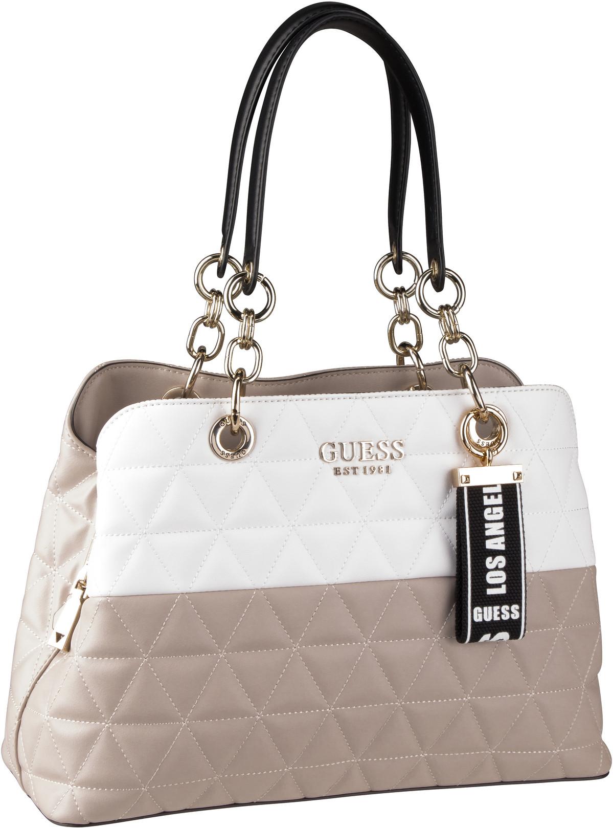 Handtasche Laiken Girlfriend Satchel White Multi