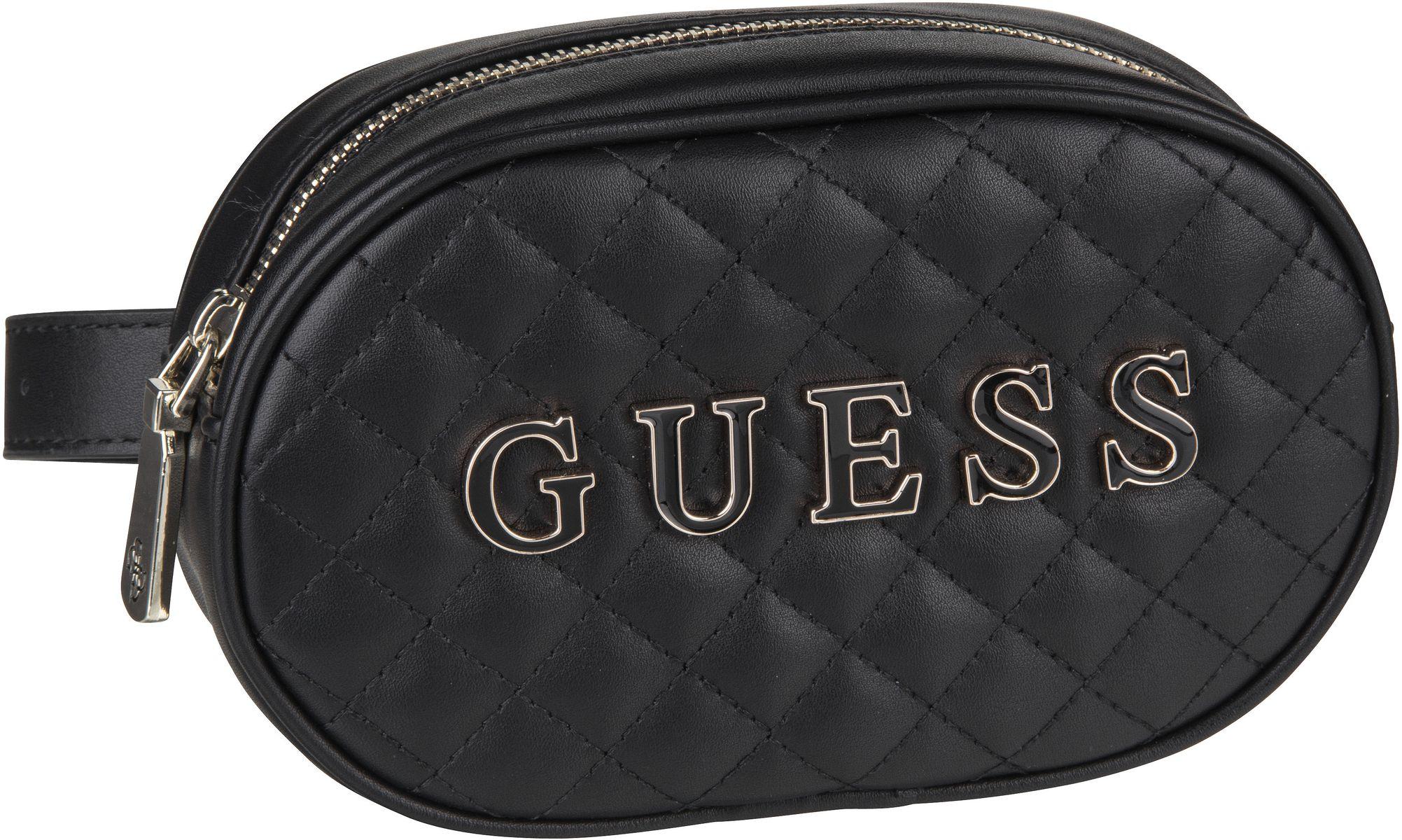 Kleinwaren für Frauen - Guess Gürteltasche Guess Passion XBody Belt Bag Black  - Onlineshop Taschenkaufhaus