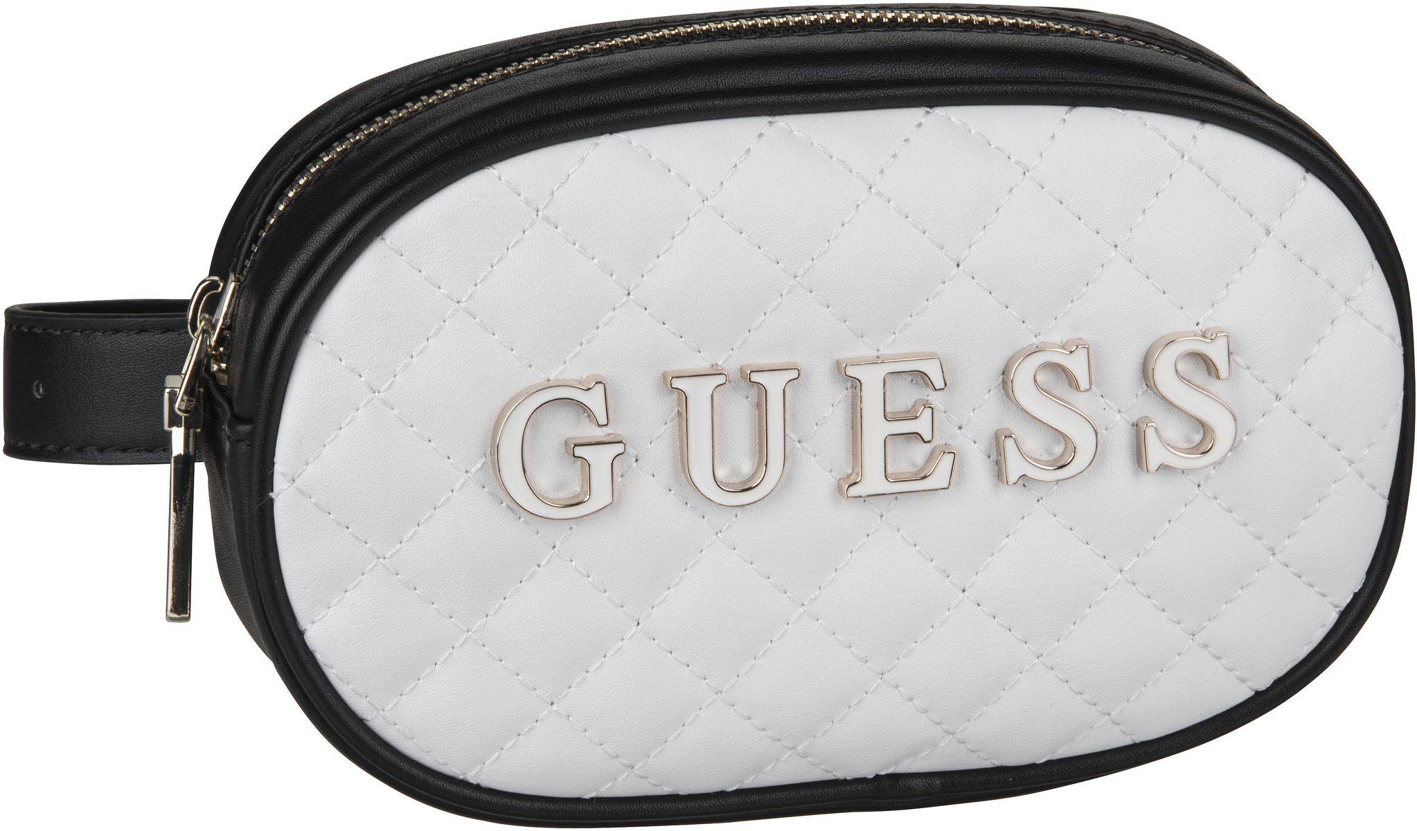 Kleinwaren für Frauen - Guess Gürteltasche Guess Passion XBody Belt Bag White Multi  - Onlineshop Taschenkaufhaus