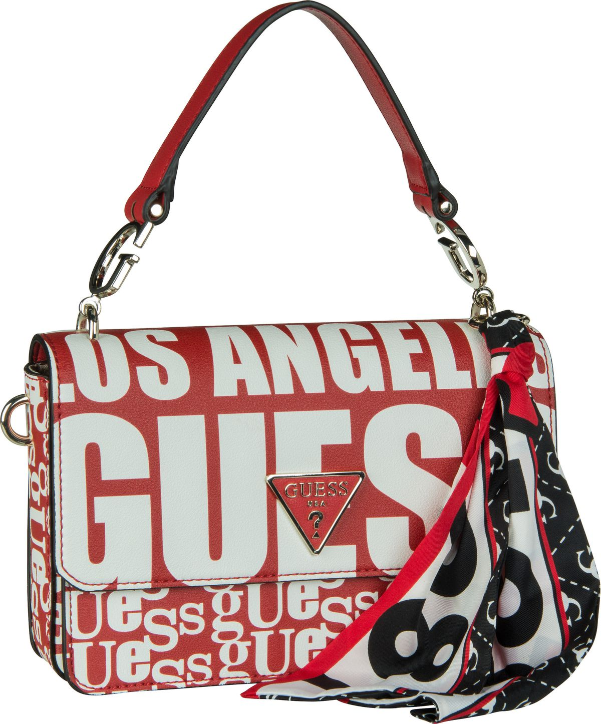 Handtasche Analise Crossbody Flap Red Multi