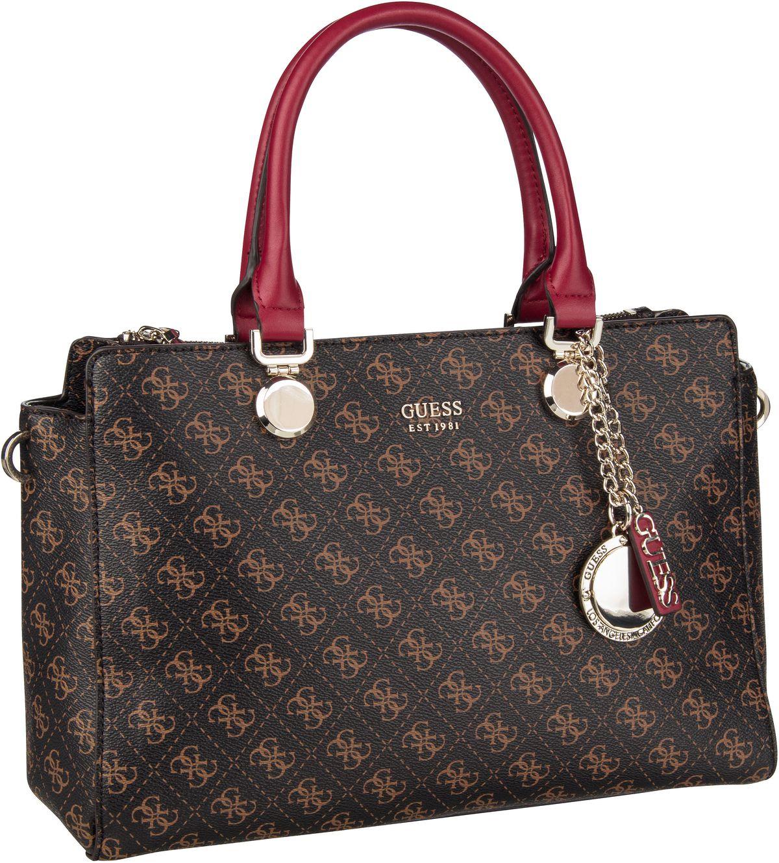Handtasche Aline Society Satchel Brown Multi