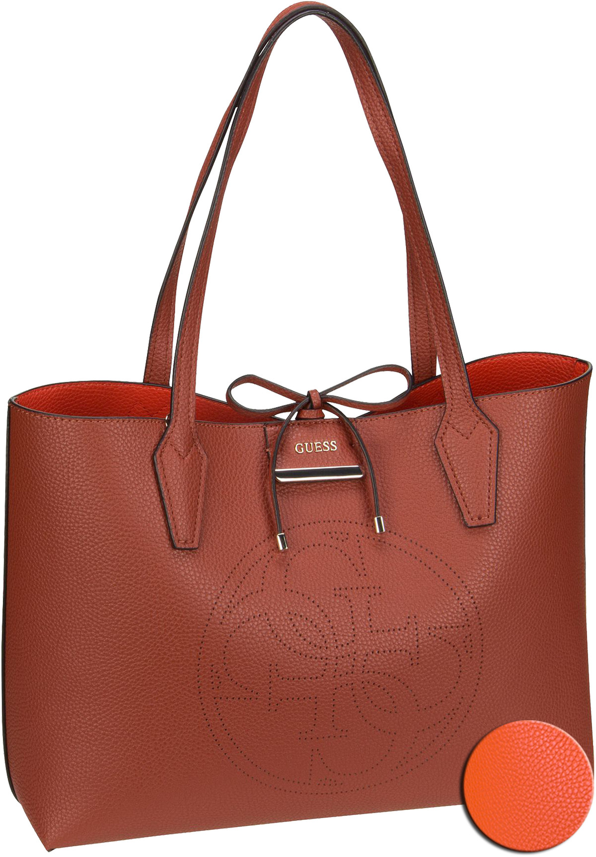 Handtasche Bobbi AA Inside Out Tote Cognac/Spice (innen: Orange )