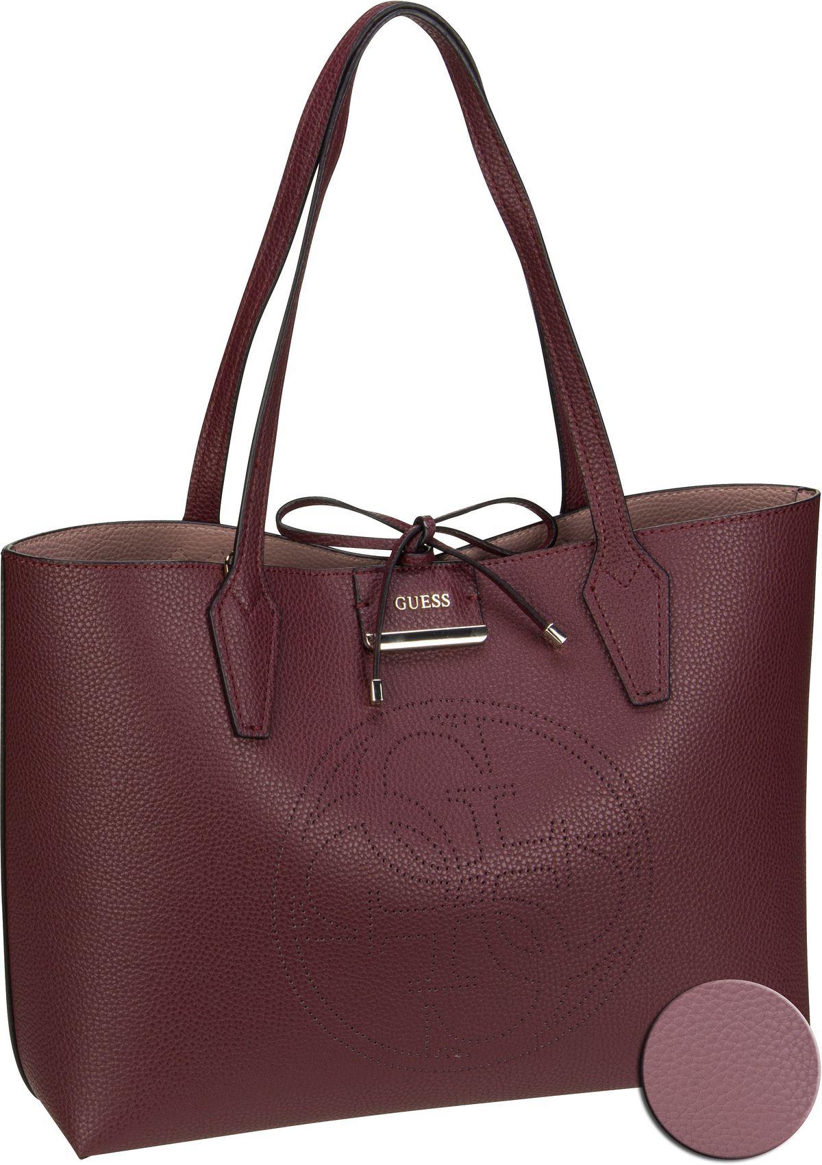 Handtasche Bobbi AA Inside Out Tote Merlot/Rosewood (innen: Rosé)