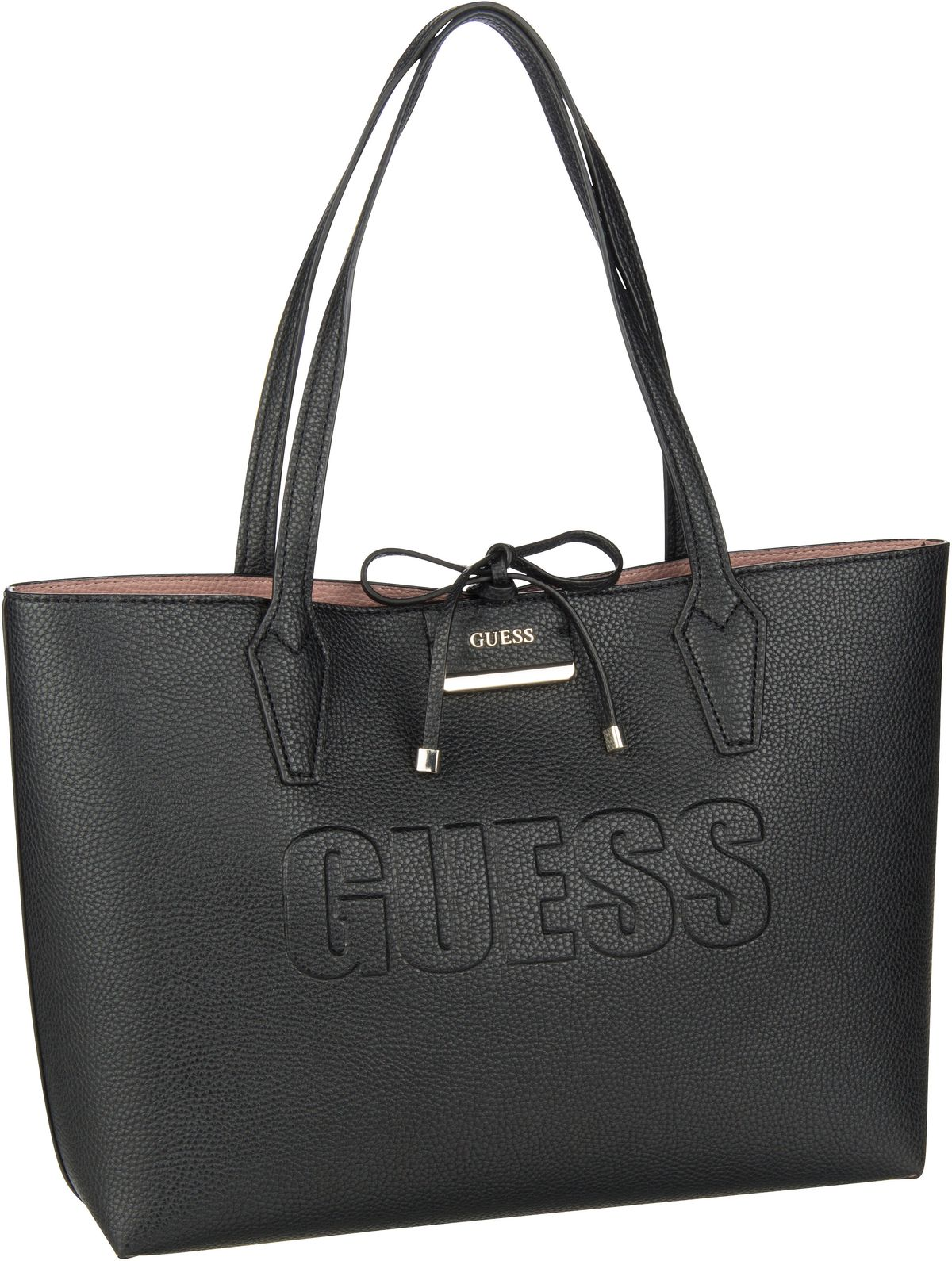 Shopper Bobbi AN Inside Out Tote Black/Rosewood