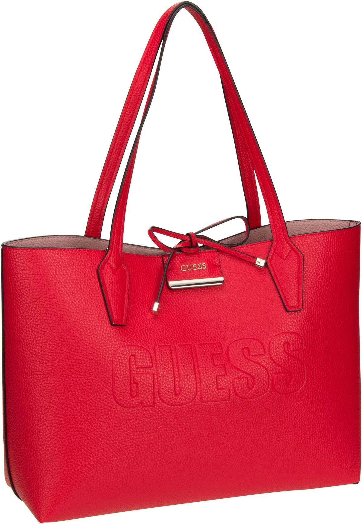 Shopper Bobbi AN Inside Out Tote Red/Pink