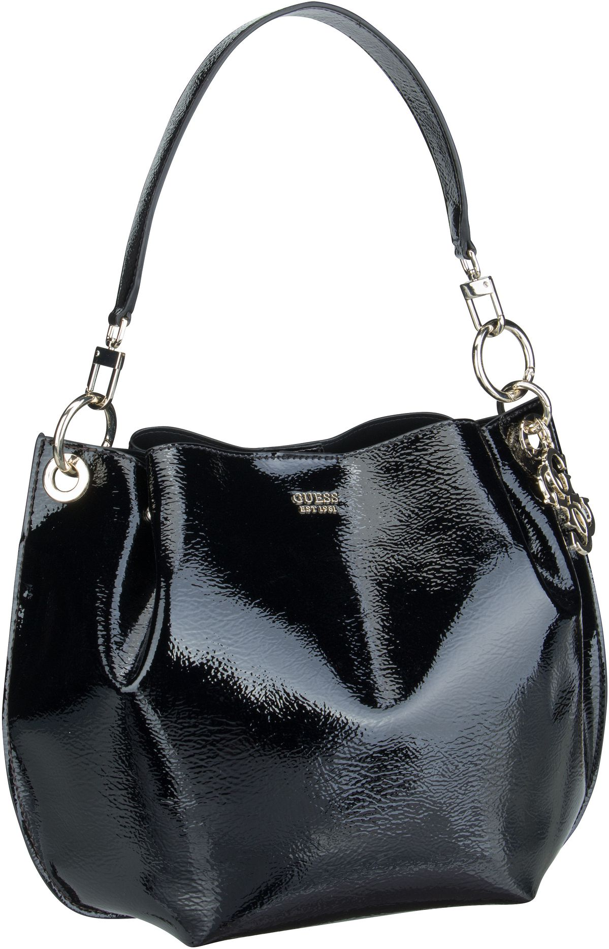 Handtasche Digital Patent Hobo Black