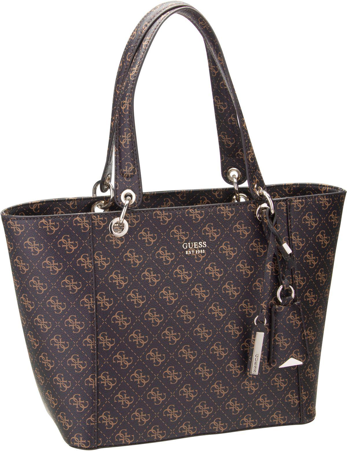 Handtasche Kamryn Tote Logo Brown