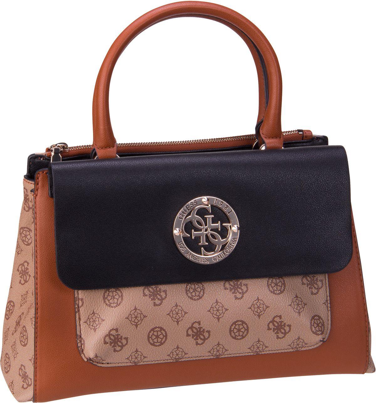 Handtasche Magnolia Society Satchel Cognac Multi