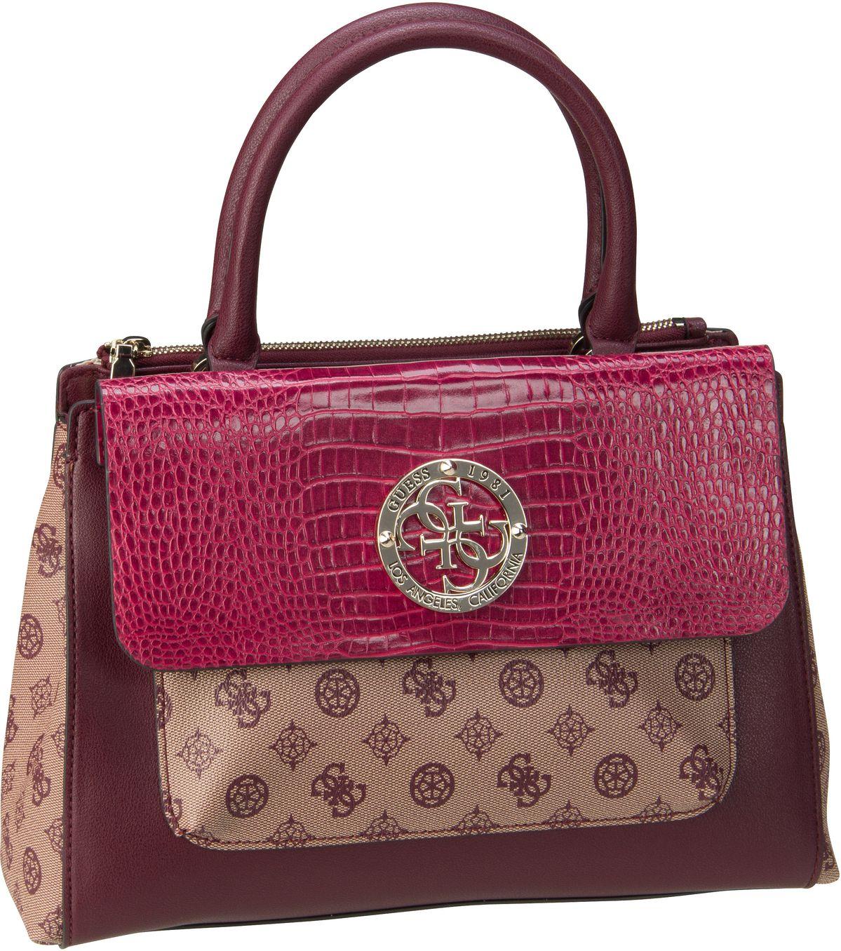 Handtasche Magnolia Society Satchel Merlot Multi