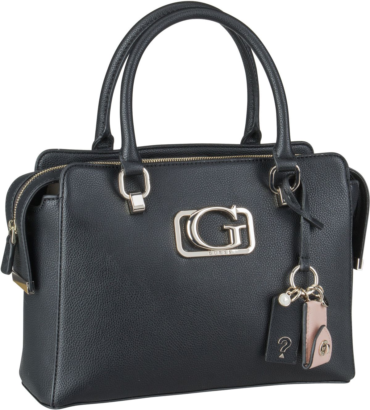 Handtasche Annarita Girlfriend Satchel Black