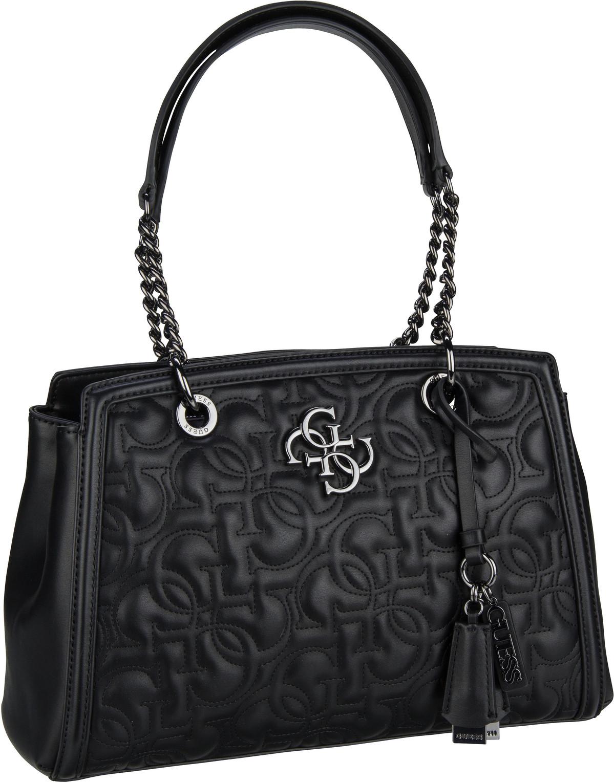 Handtasche New Wave Luxury Satchel Black
