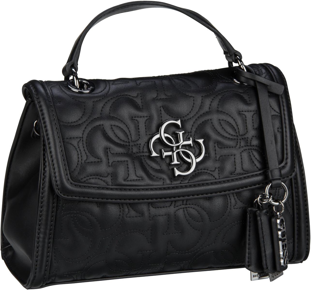Handtasche New Wave Top Handle Flap Black