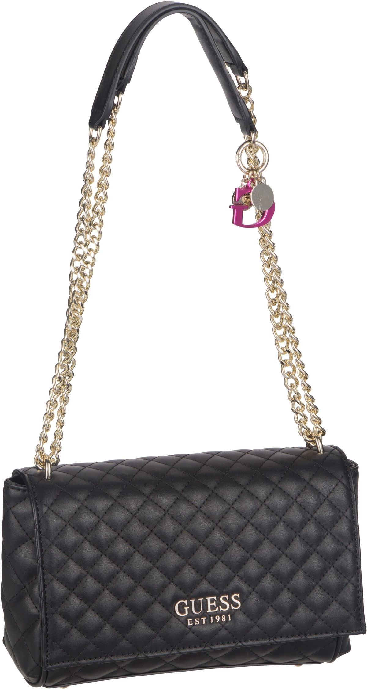 Handtasche Brielle Convertible Crossbody Flap Black
