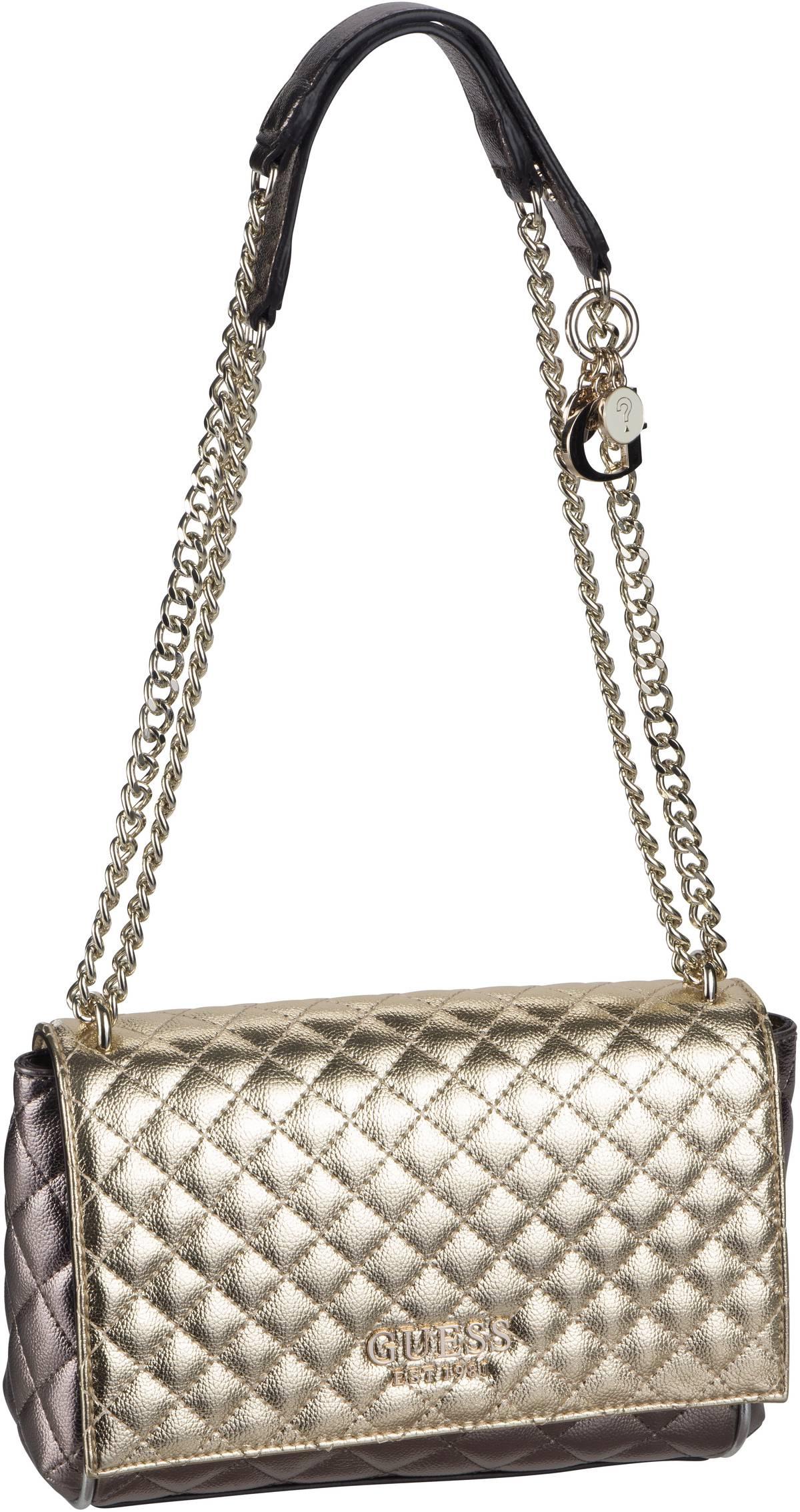 Handtasche Brielle Convertible Crossbody Flap Gold Multi
