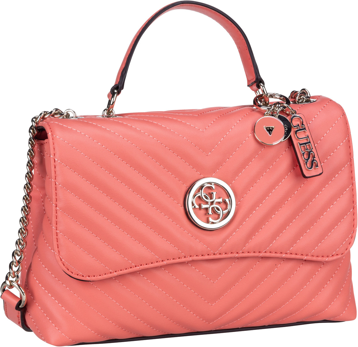 Umhängetasche Blakely Top Handle Flap Coral