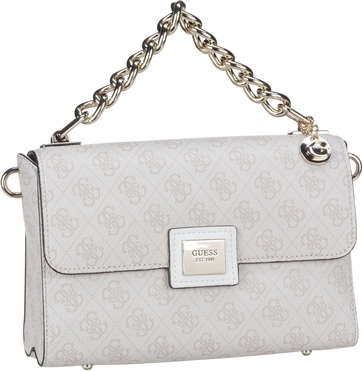Handtasche Candace Top Handle Flap Stone