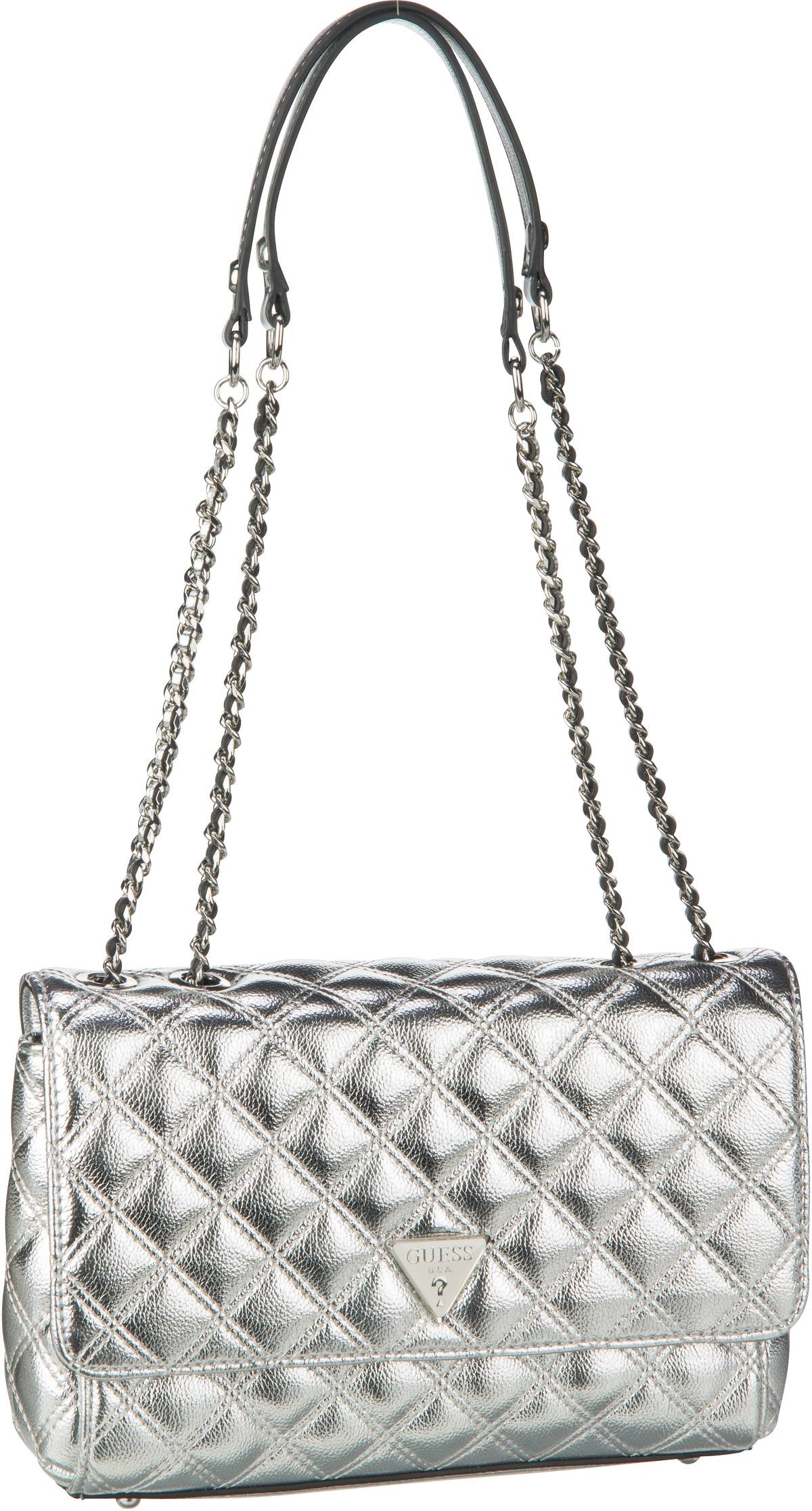 Schultertasche Cessily Convertible XBody Flap Silver