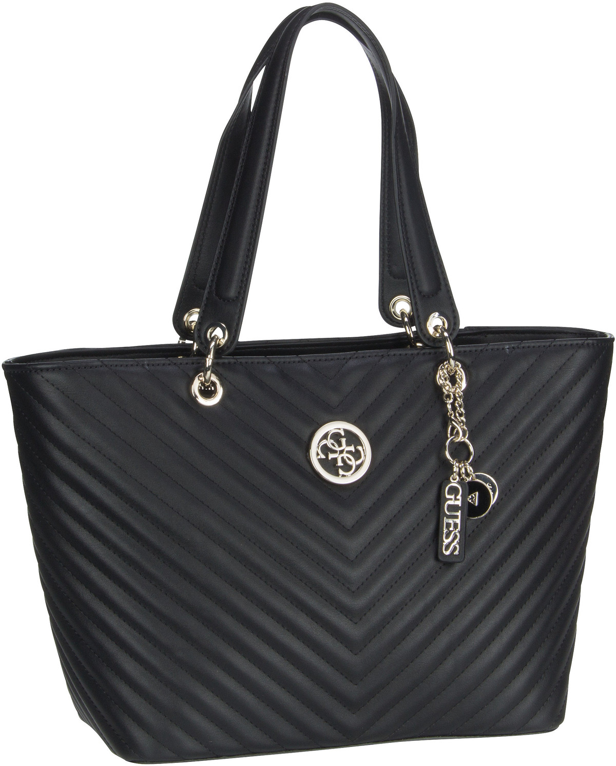 Shopper Kamryn BQ Tote Black