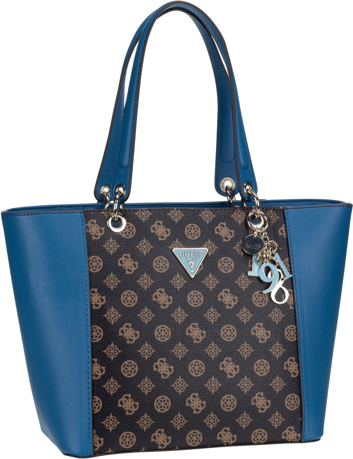 Shopper Kamryn SE Tote Brown/Blue