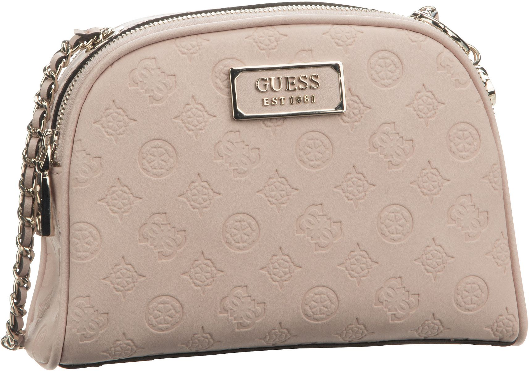 Umhängetasche Logo Love Crossbody Top Zip Blush