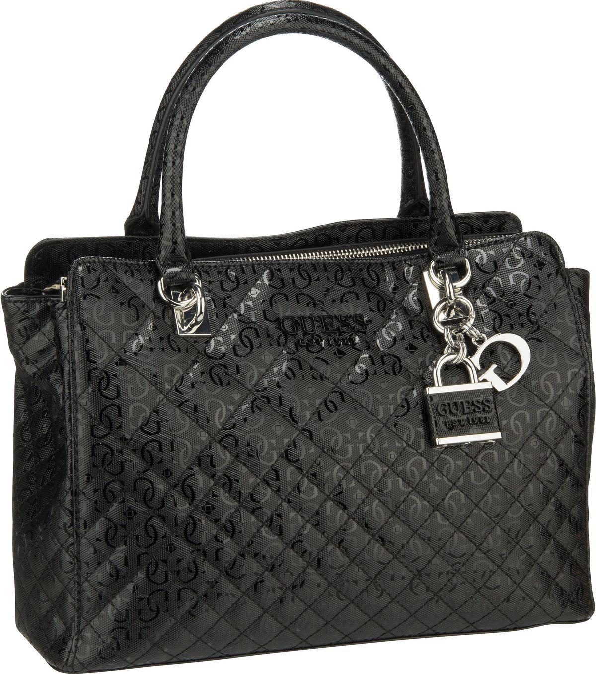 Handtasche Queenie Luxury Satchel Black