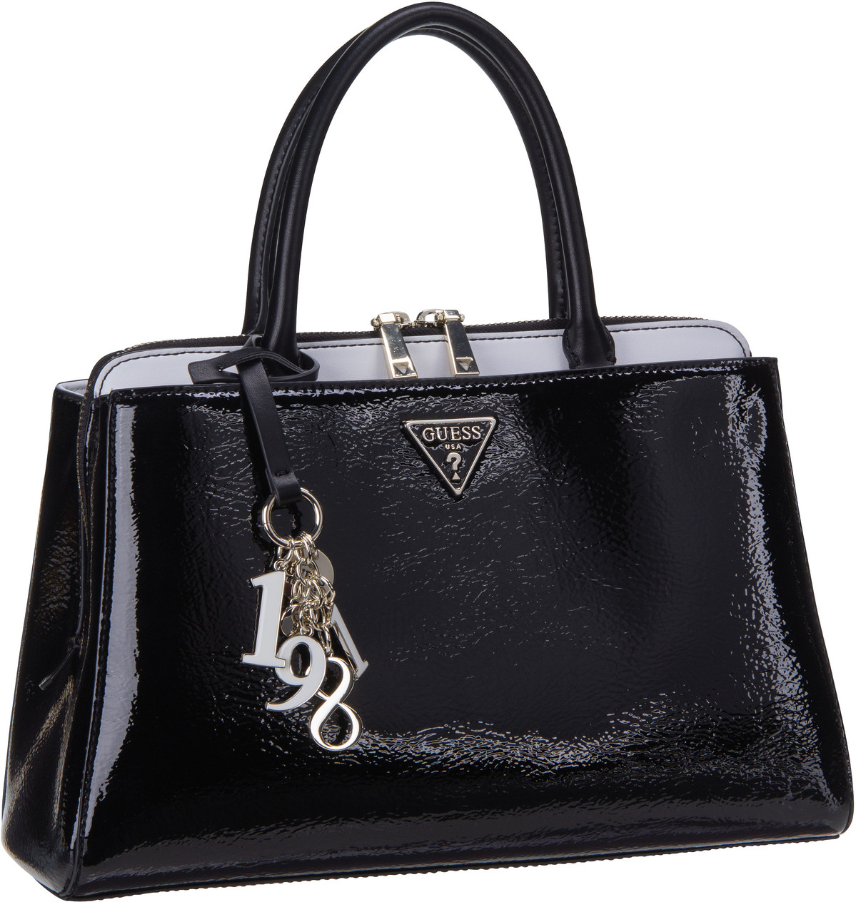 Handtasche Maddy Girlfriend Satchel Black Multi