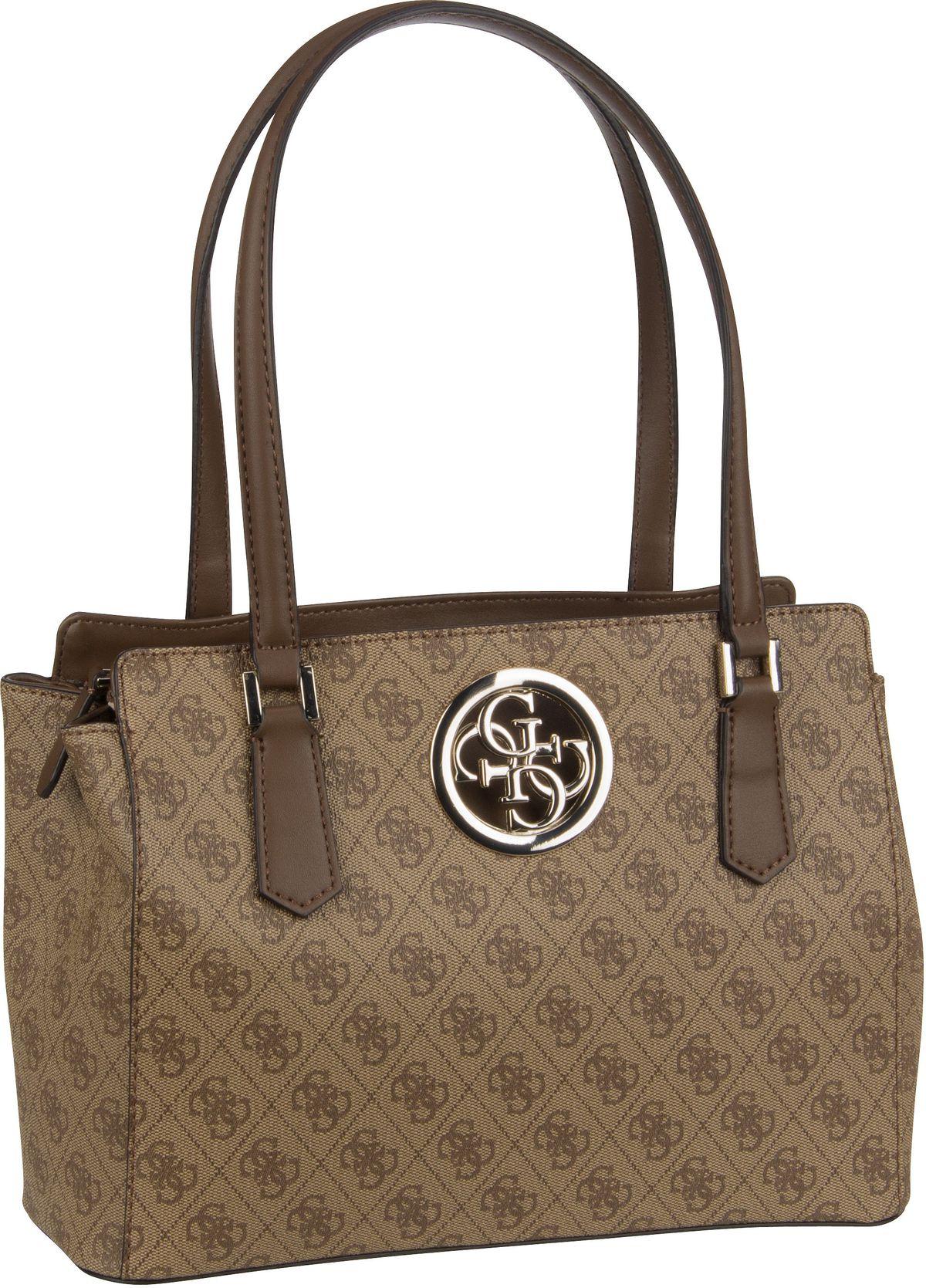 Handtasche Open Road Luxury Satchel Brown