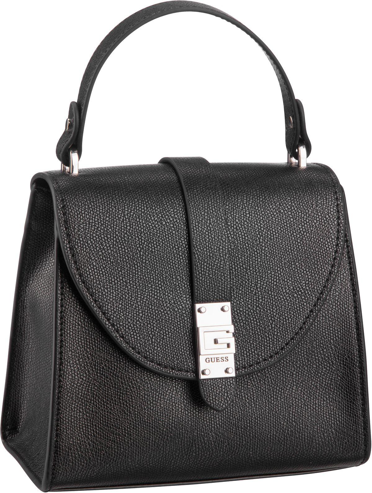 Handtasche Nerea Top Handle Flap Black