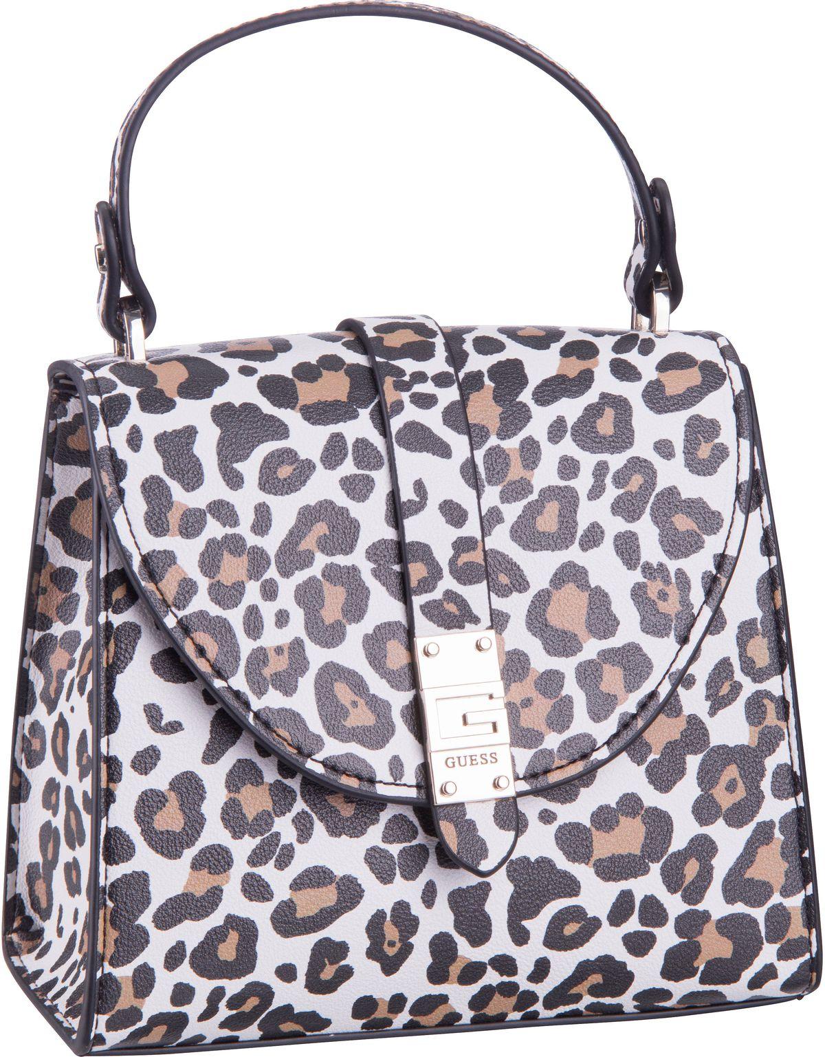 Handtasche Nerea Top Handle Flap Leopard