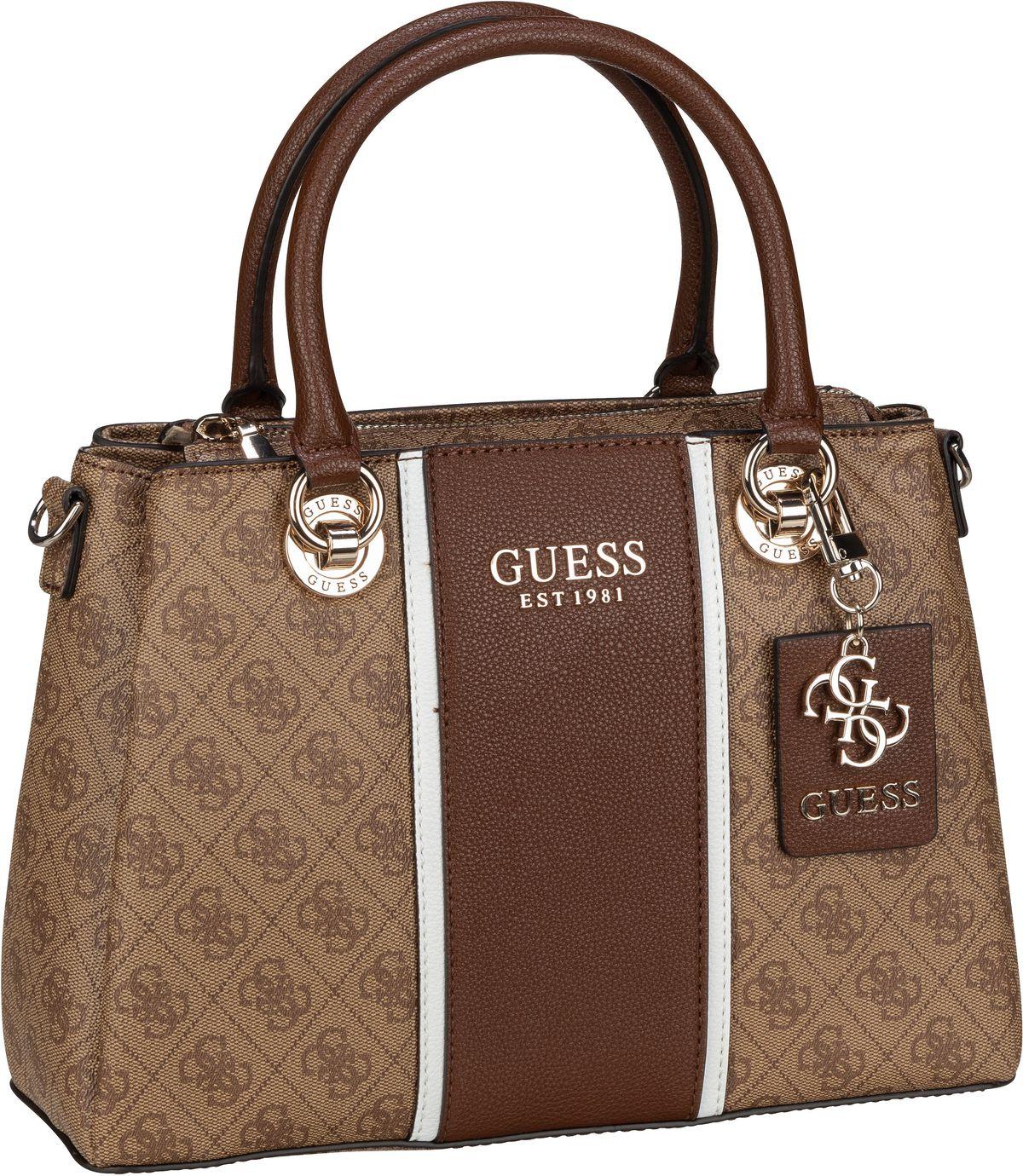 Handtasche Cathleen 3 Compartment Satchel Brown