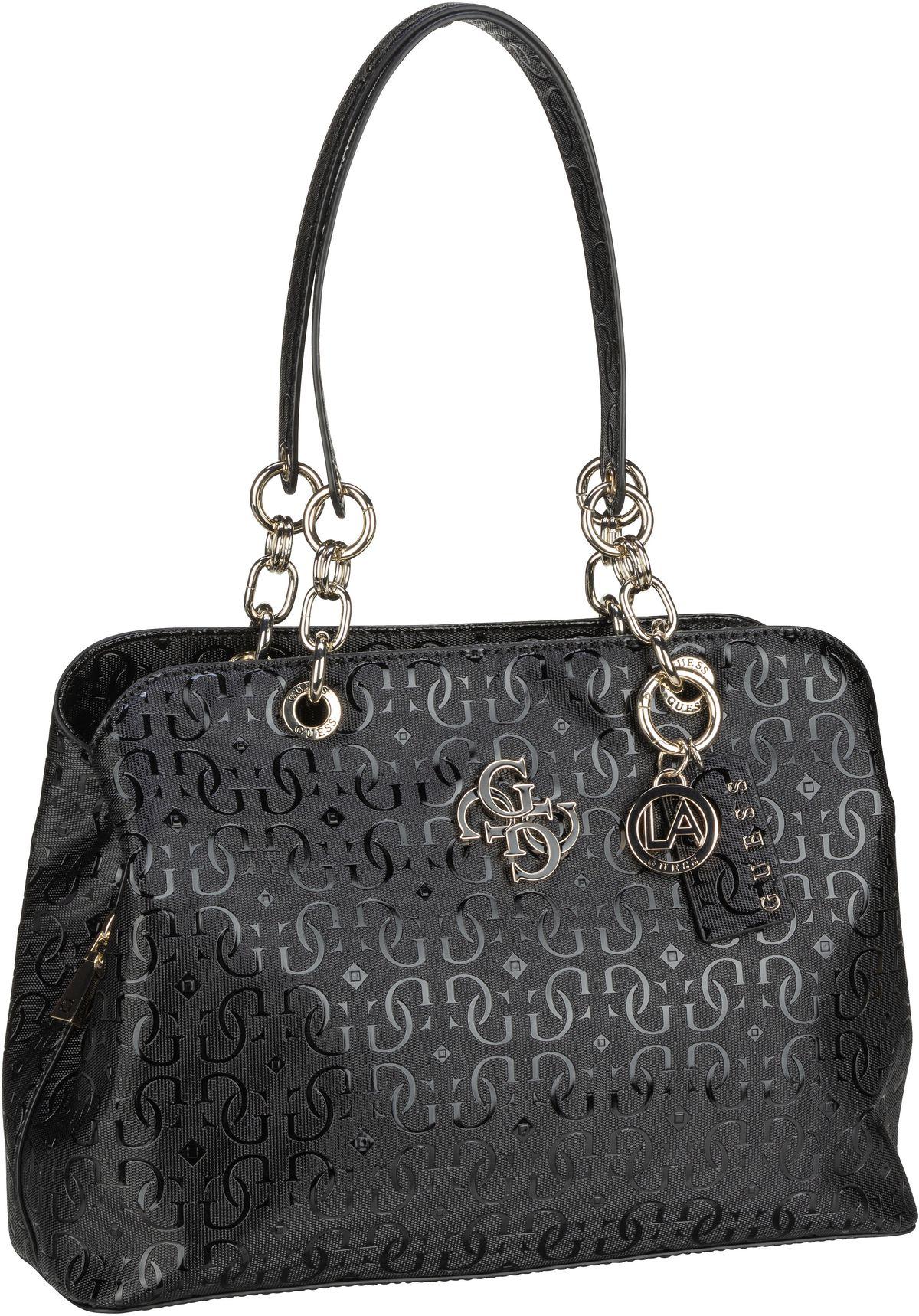 Handtasche Chic Shine Large Girlfriend Satchel Black