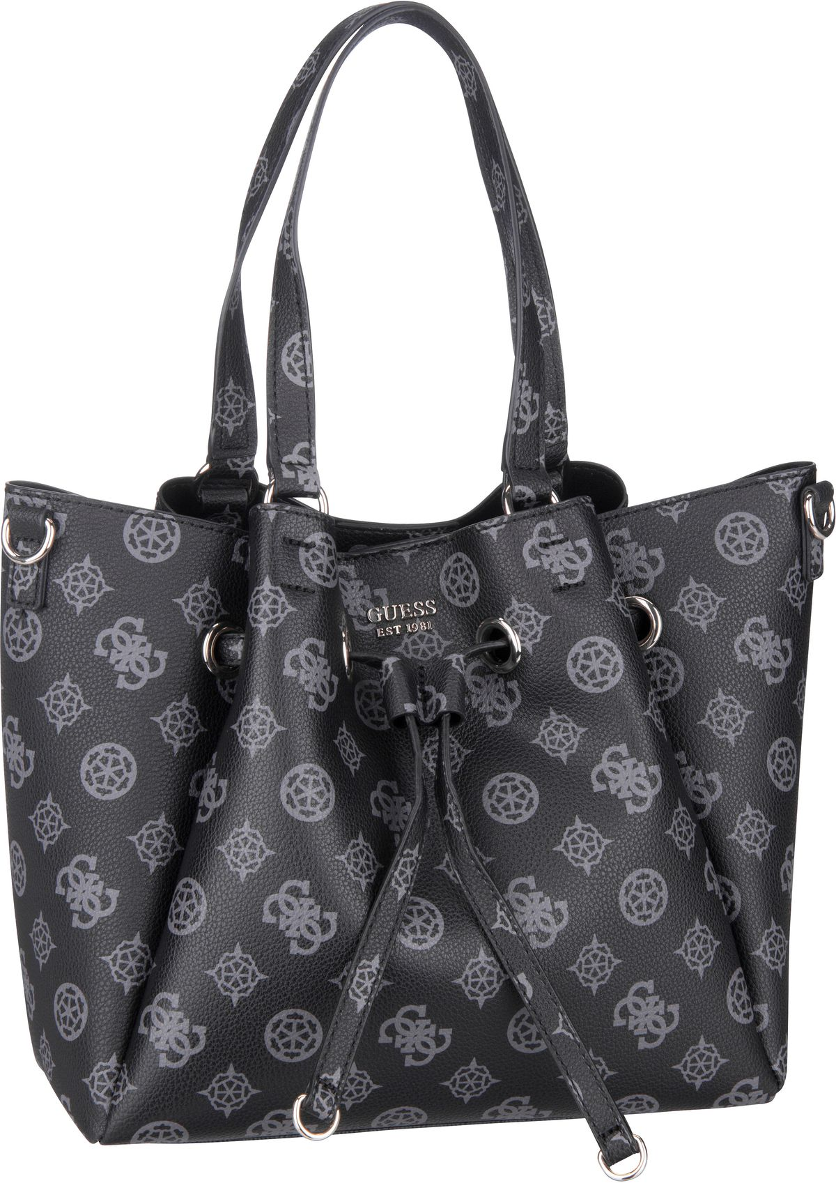Handtasche Digital Drawstring Bag SP Black